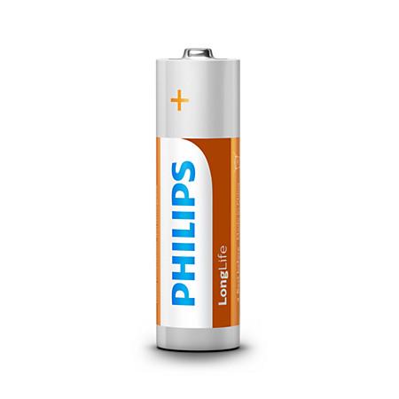 Nicht wiederaufladbare Batterie