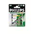 Philips MultiLife Rechargeable accu R6NM230 AA, 2300 mAh Nickel-Metal Hydride