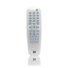RC4702/01  Télécommande pour lecteur/enregistreur de DVD
