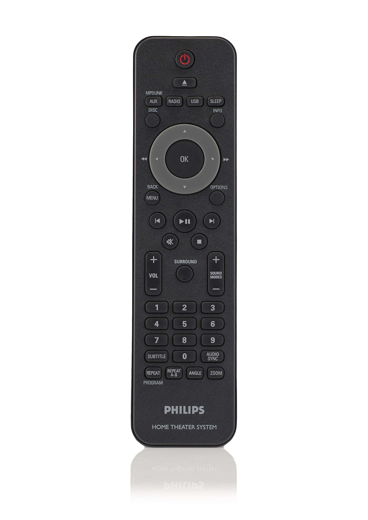 Philips Dvd Home Theater System Hts Remote
