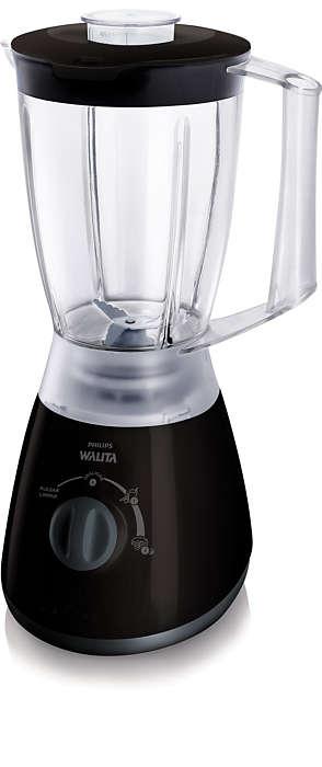 Mistura ingredientes sem complicação