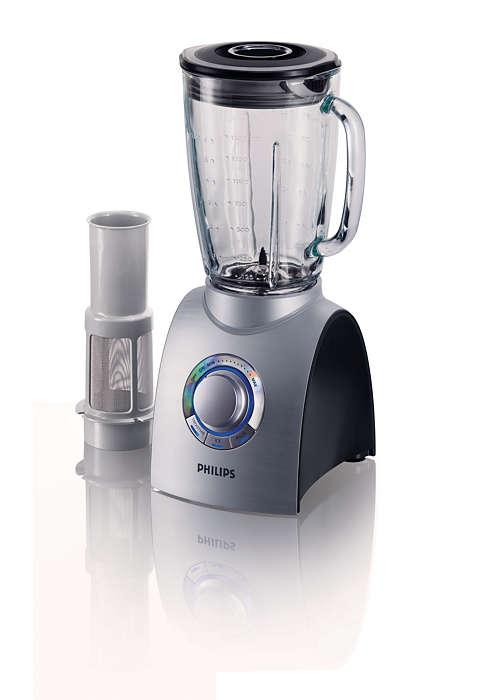 Potência extra para mistura e trituração perfeitas