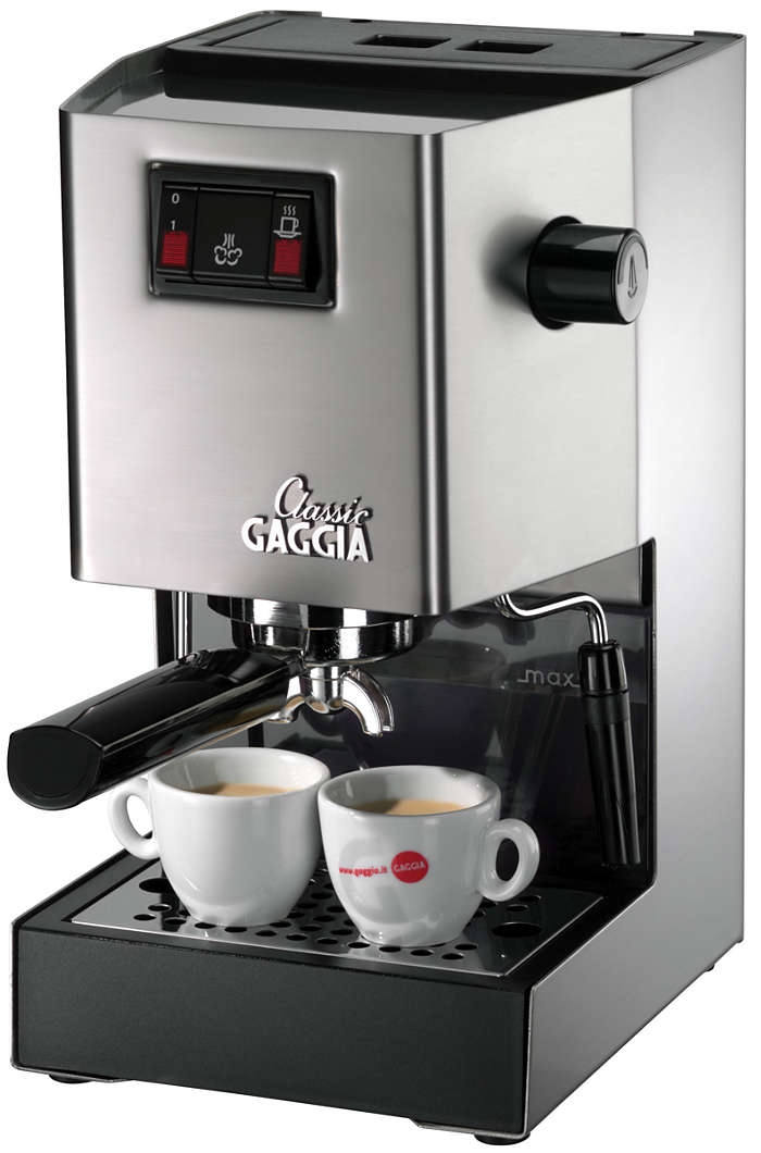 Geniet van een professionele espresso,