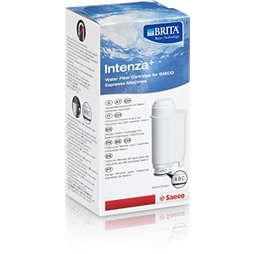 Saeco Brita Intenza + cartucho de filtro de agua