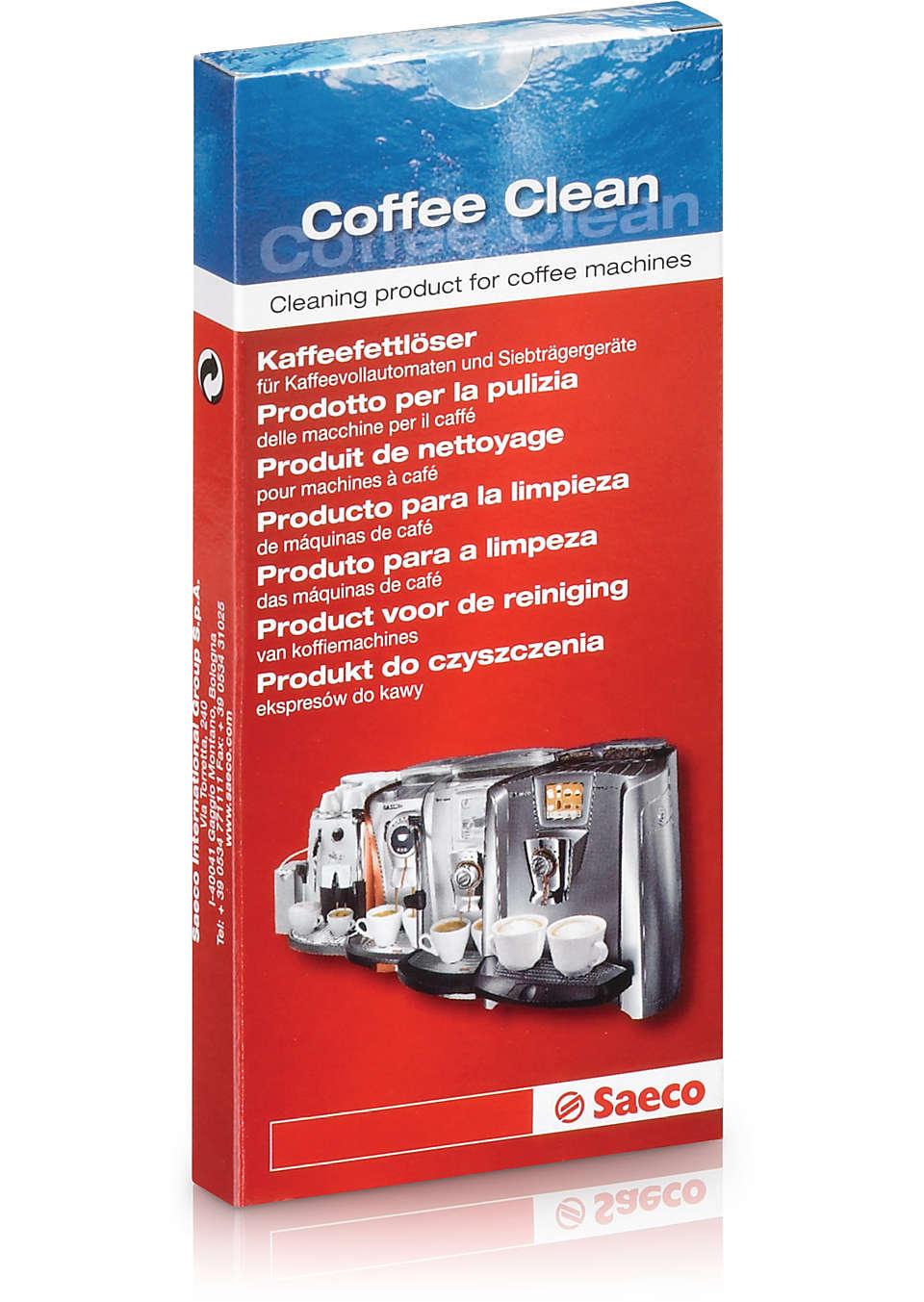 Prodotto per la pulizia delle macchine per caffè
