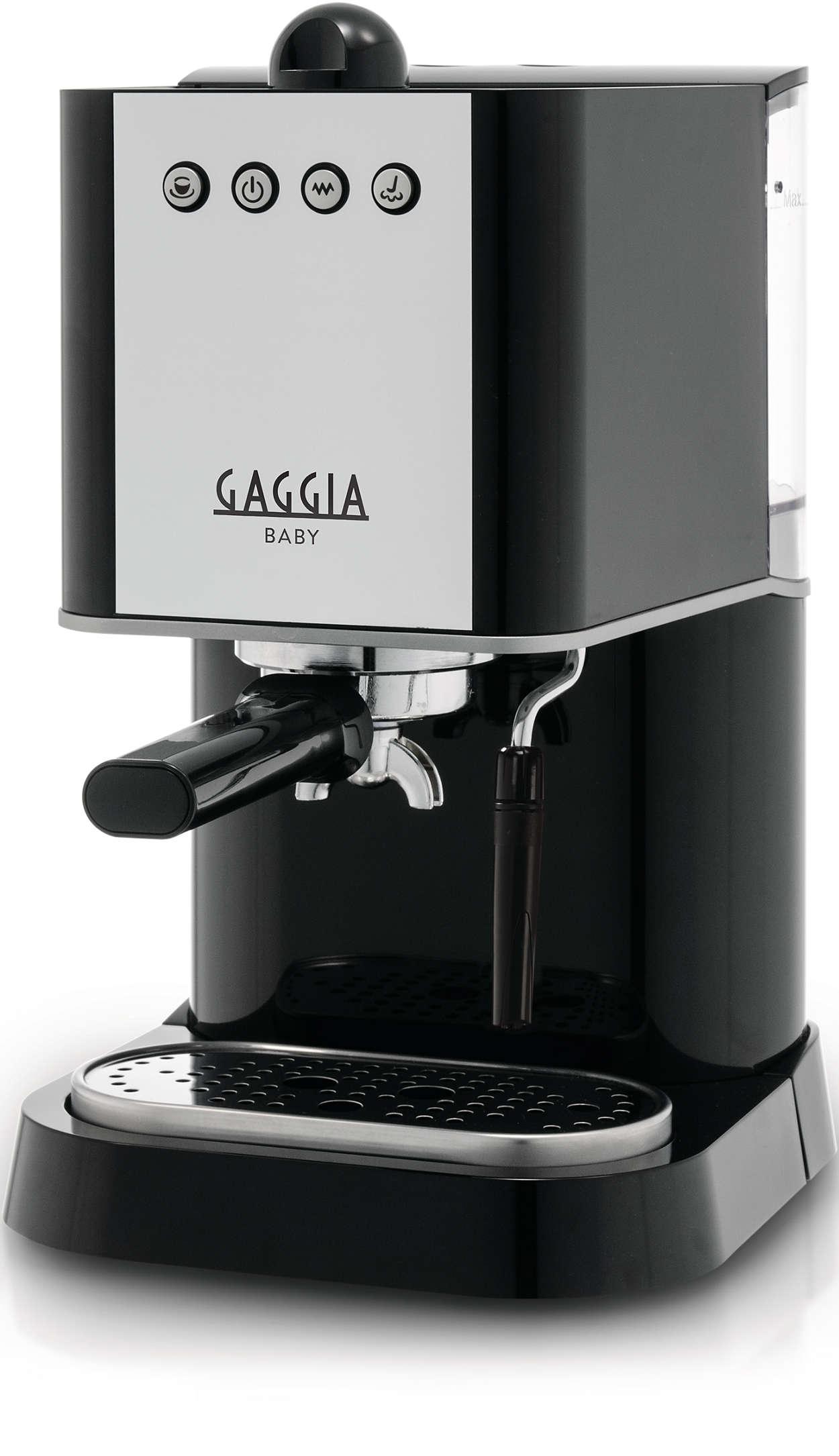 manual espresso machine ri9301 11 gaggia. Black Bedroom Furniture Sets. Home Design Ideas