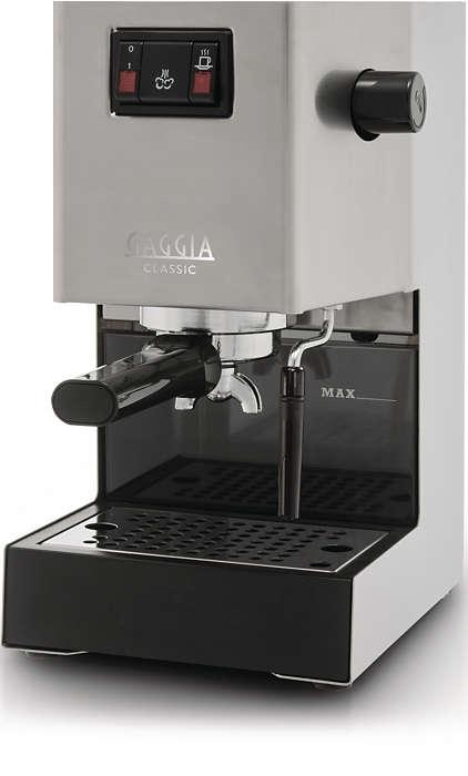 Echte Italiaanse espresso