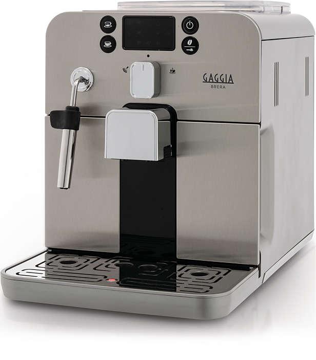 Préparez votre espresso