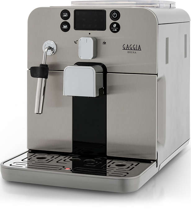 Press a button and enjoy your favourite Espresso