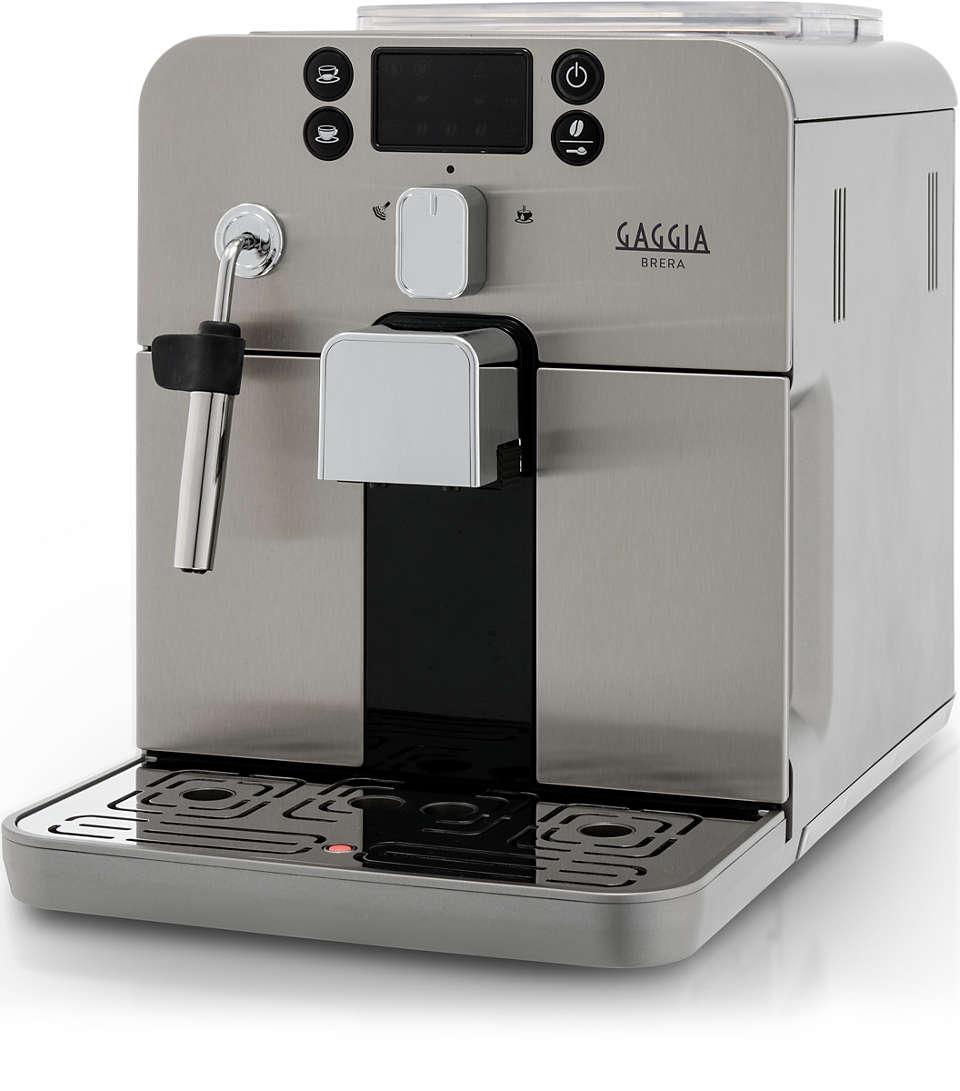 Press a button and enjoy your favourite Espresso