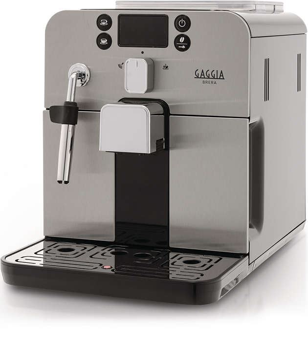 Premi un pulsante e gusta il tuo espresso preferito