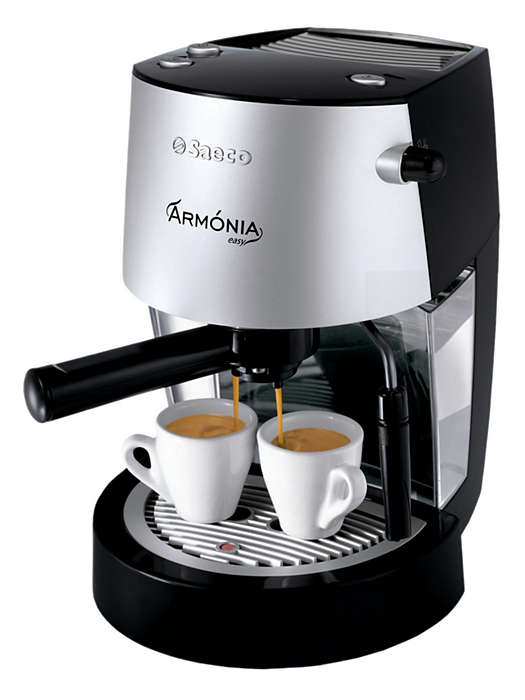 The pleasure and quality of Espresso