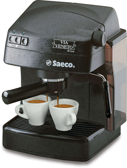Enjoy your Italian Espresso