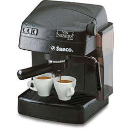 Saeco Via Veneto Käsitsi juhitav espressomasin