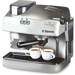 Saeco Via Veneto Cafetera espresso manual