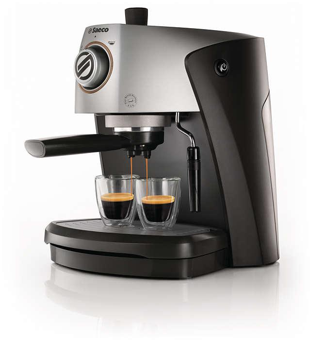 Njut av italiensk espresso