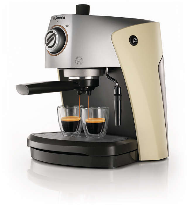 Genießen Sie Ihren italienischen Espresso
