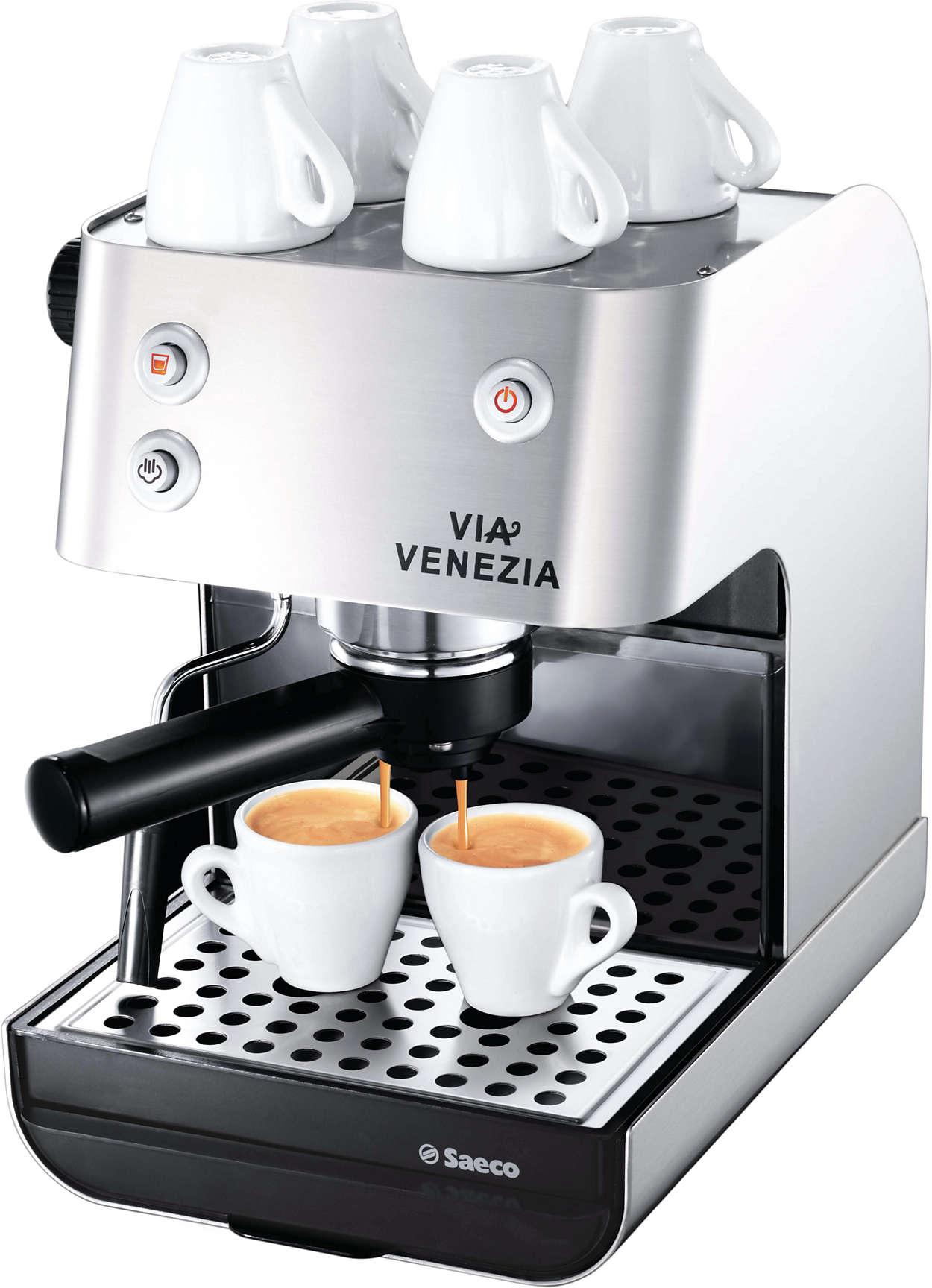 Savourez l'arôme intense de votre espresso