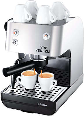 saeco manual espresso machine