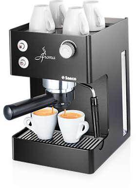 Aroma Manual Espresso Machine Ri9373 47 Saeco