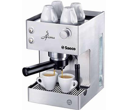 Taste the full Aroma of your Espresso
