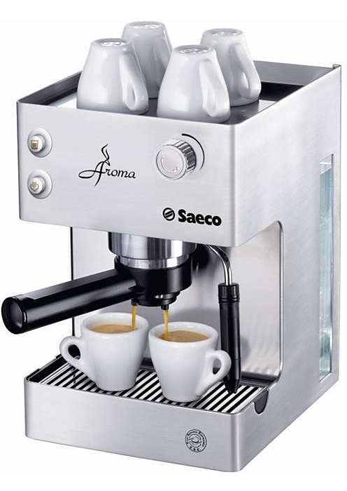 Proef het volle aroma van uw espresso