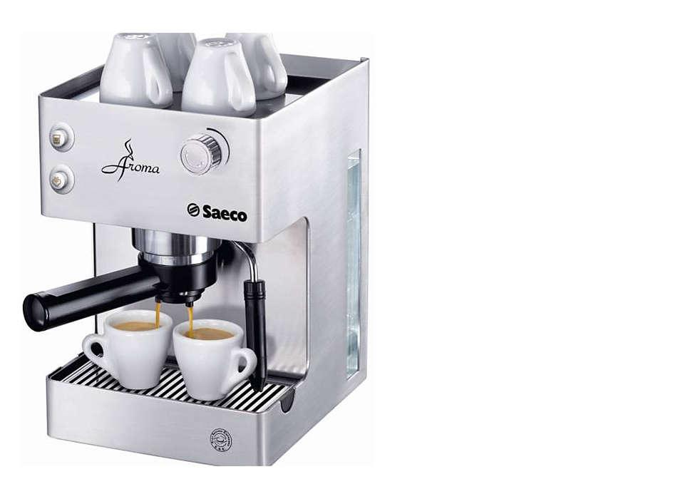 Aroma Manual Espresso machine RI9376/04 | Saeco