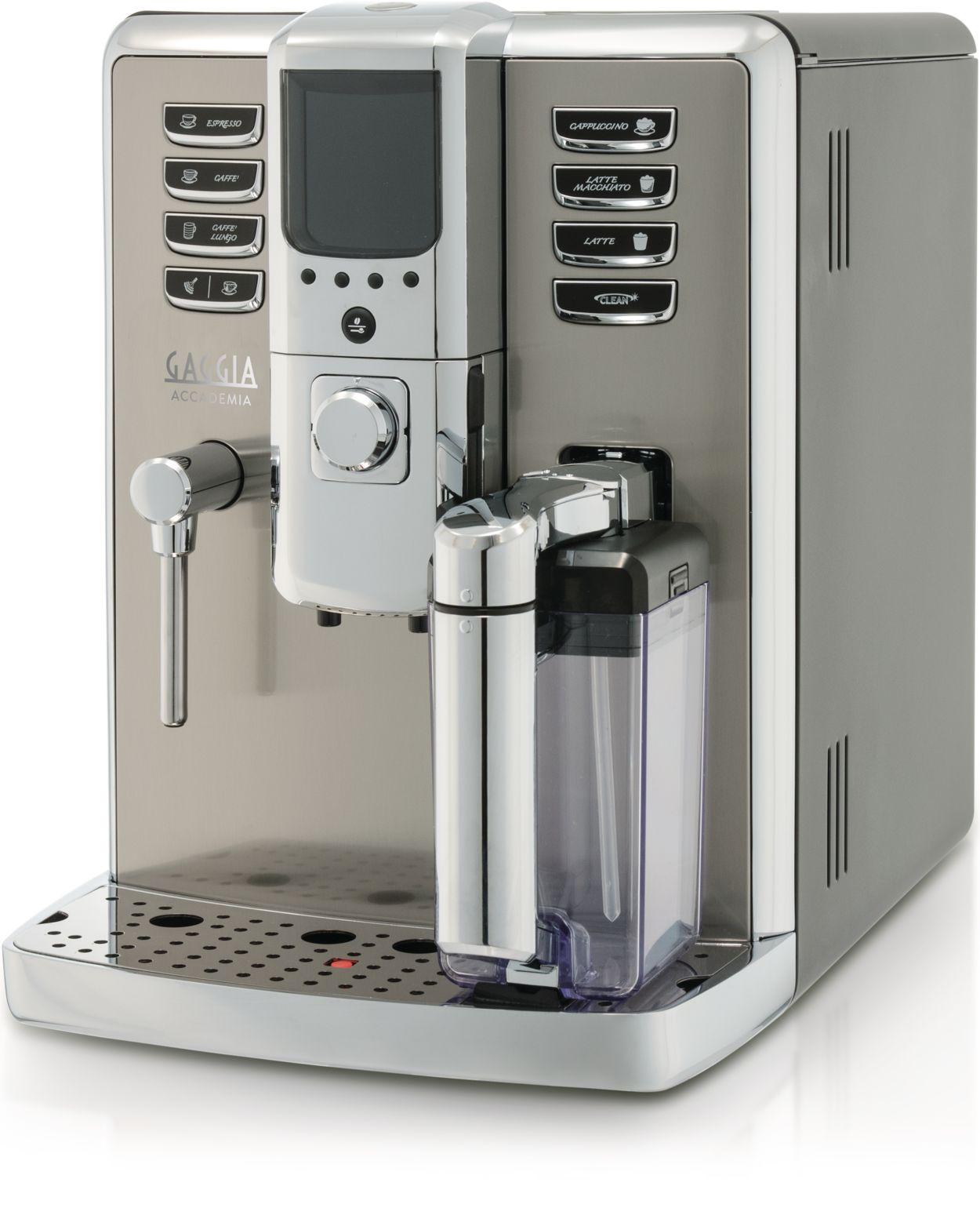 Electronic Real Coffee Machine super automatic espresso machine ri970204 gaggia become a real barista with accademia gaggia