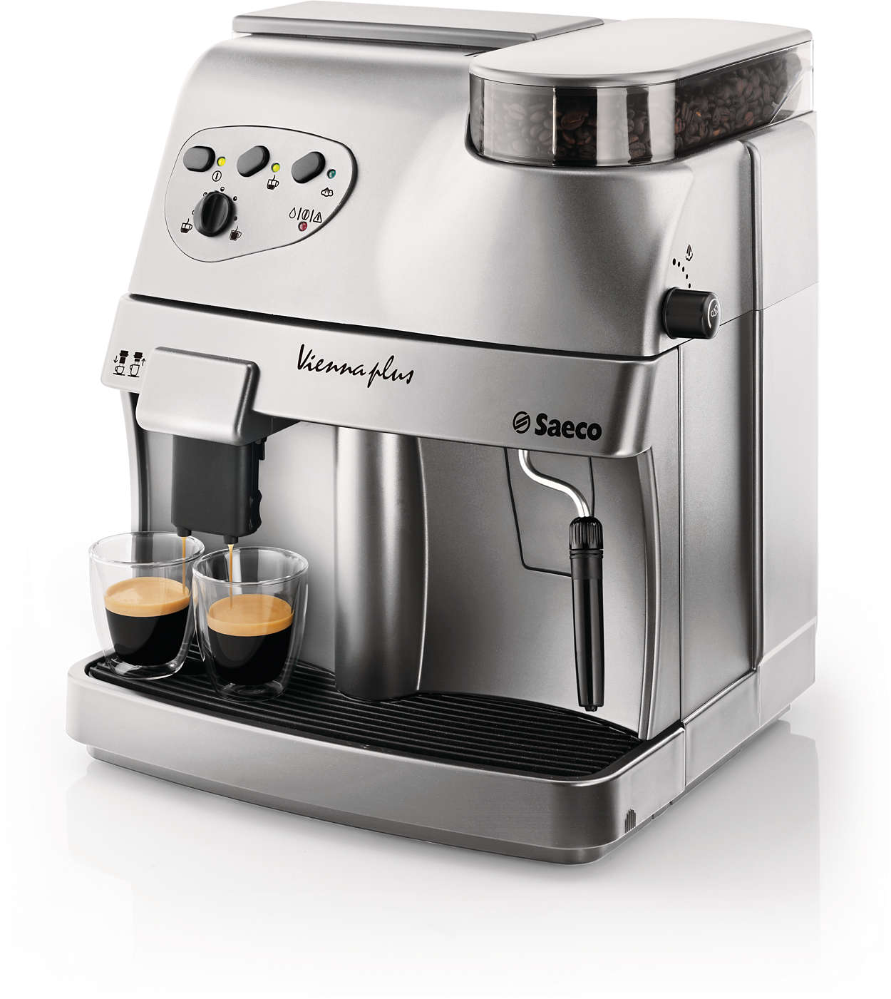 vienna super automatic espresso machine ri9737 20 saeco. Black Bedroom Furniture Sets. Home Design Ideas