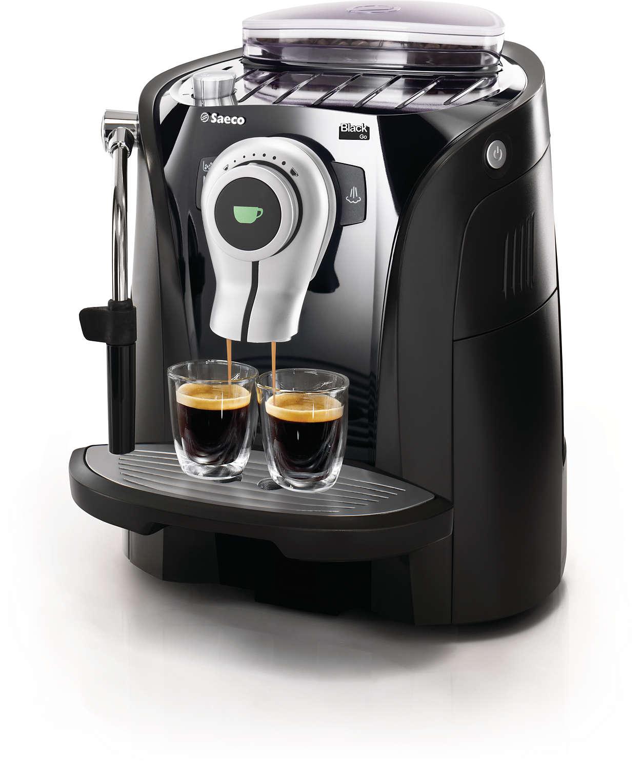 Espresso in trendigem und funktionalem Design