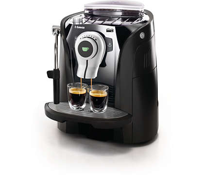 Espresso i en trendy og funksjonell design