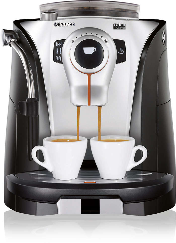 Espresso in a trendy and functional design