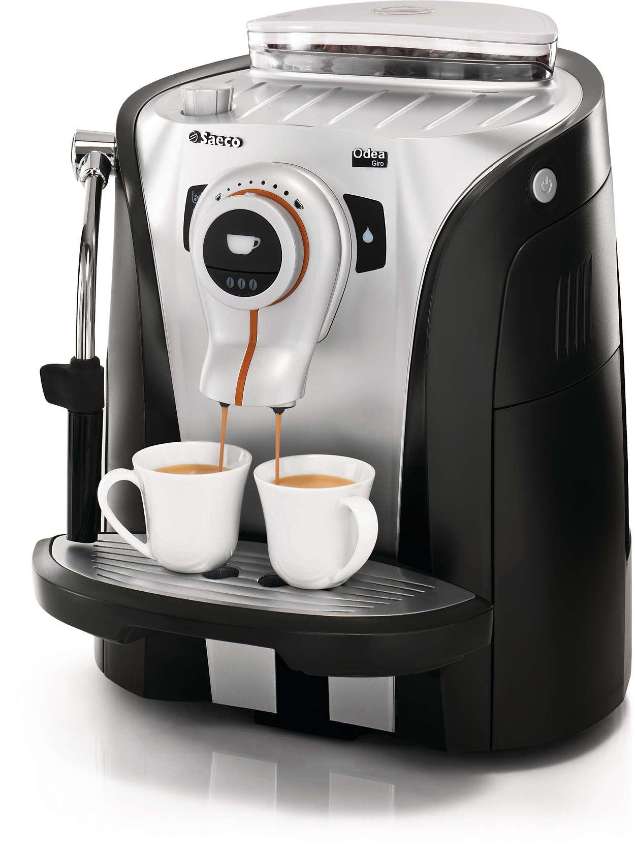 Espresso con un diseño moderno y funcional