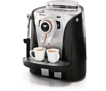Le plaisir de l'espresso dans une conception tendance et pratique