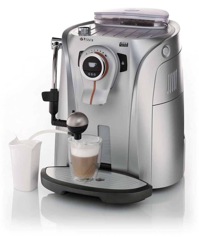 Ekspres do kawy o modnej i funkcjonalnej konstrukcji