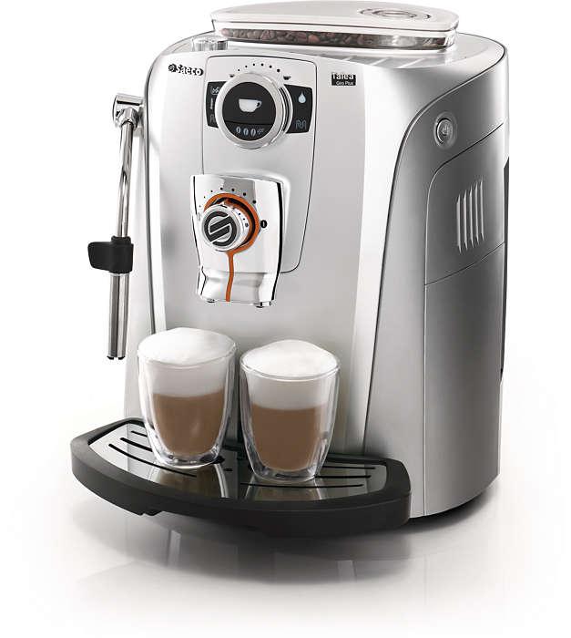 Genieten van koffie in alle elegantie