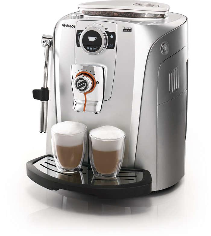 Czas na przyjemność luksusowej kawy