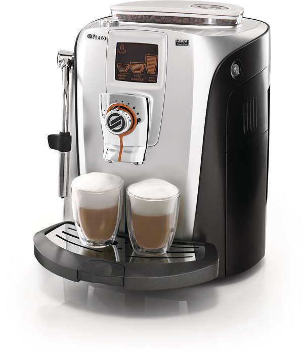 Disfrute con elegancia del café