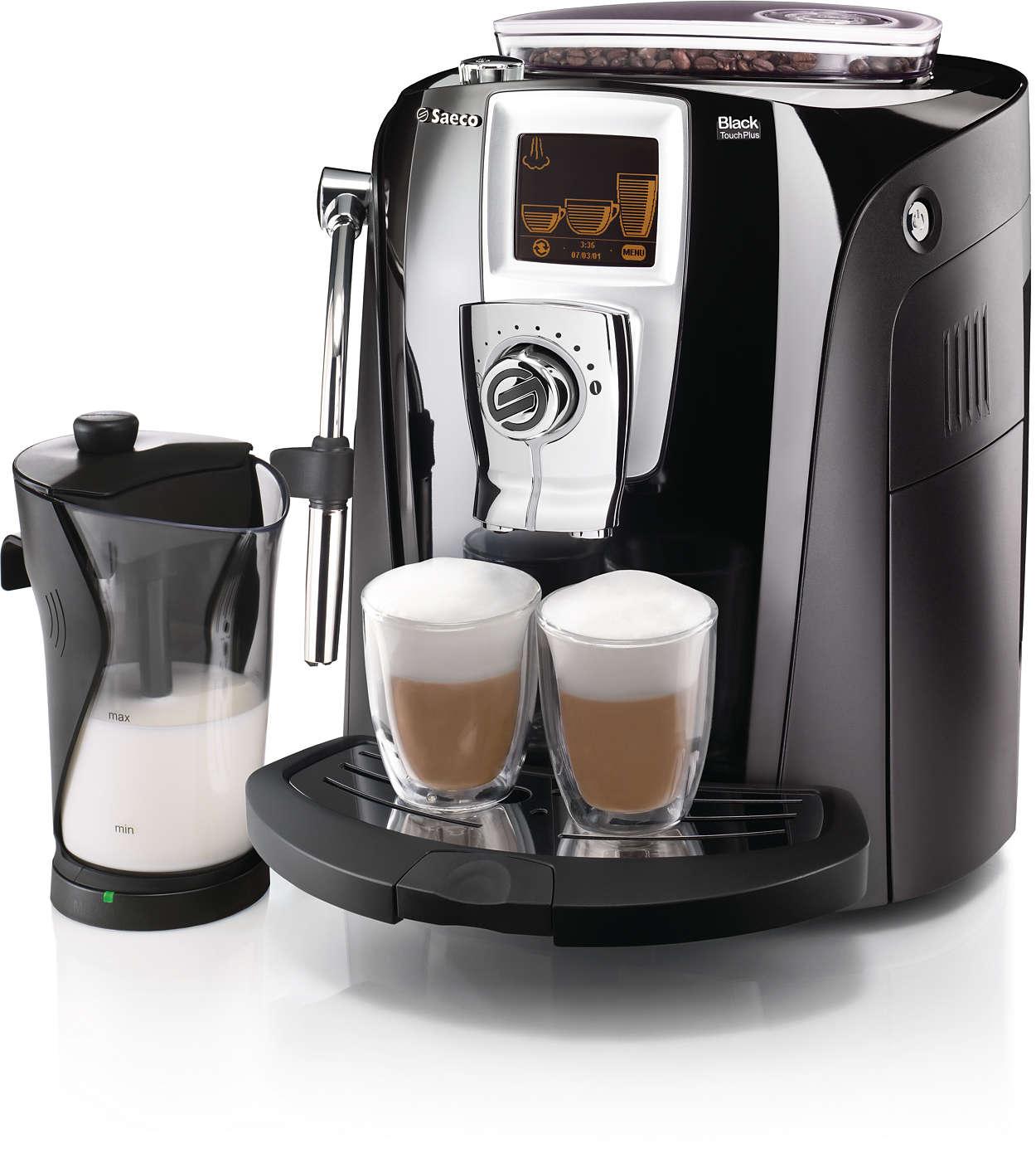 Elegantti kahvinautinto odottaa sinua