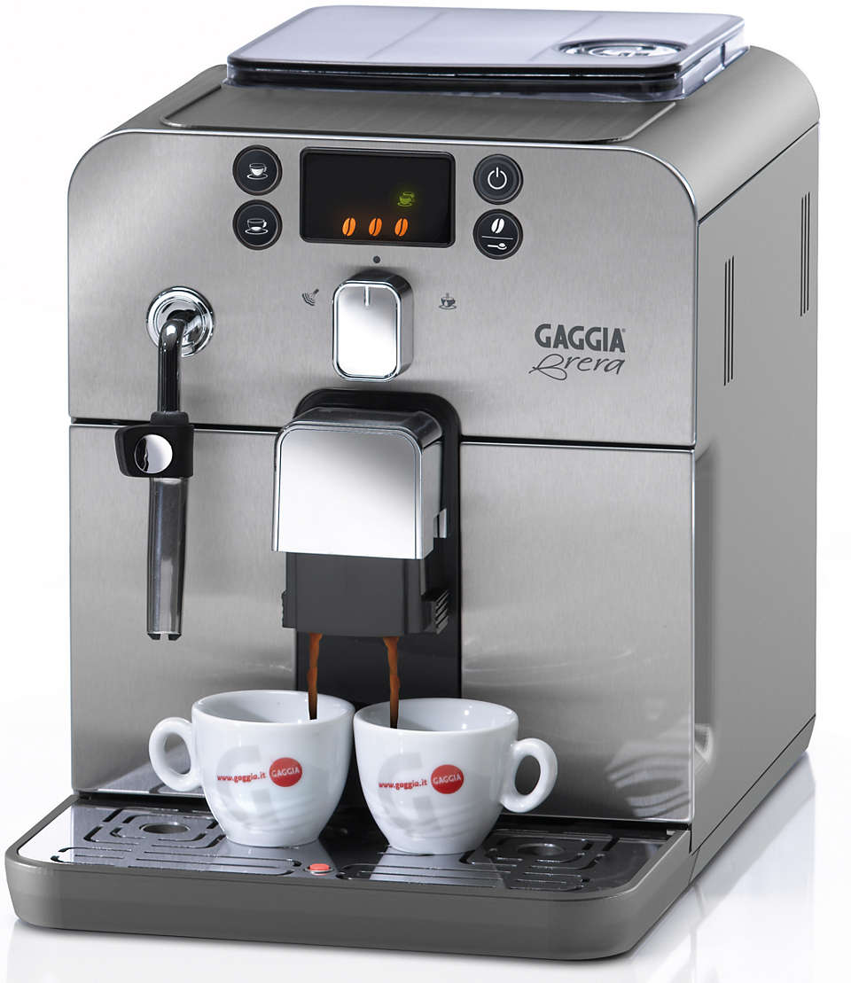 Effortless bean-to-cup espresso maker
