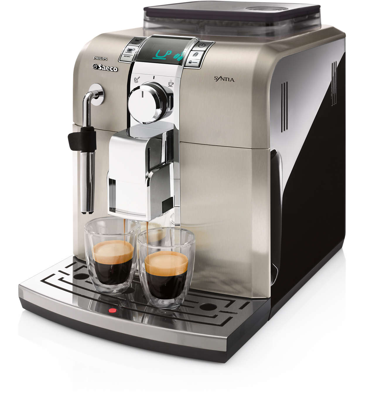 Le plaisir du café dans un style parfait