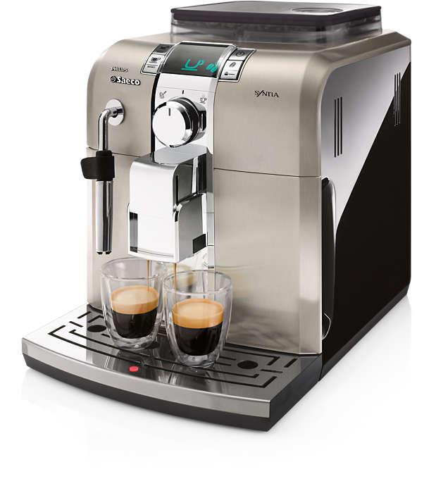 Samma njutning som på kafé med perfekt stil