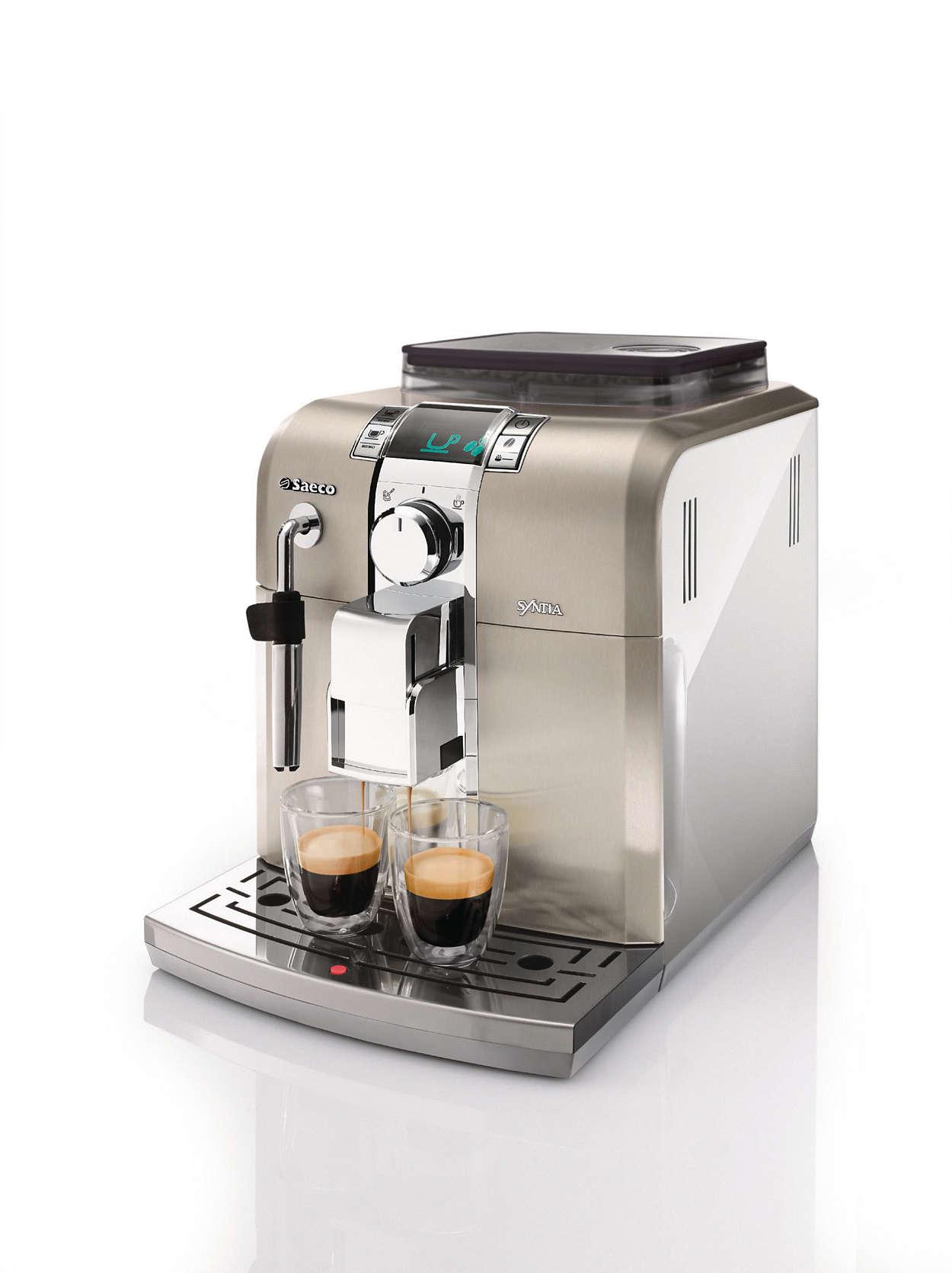 Il piacere di un espresso sempre perfetto