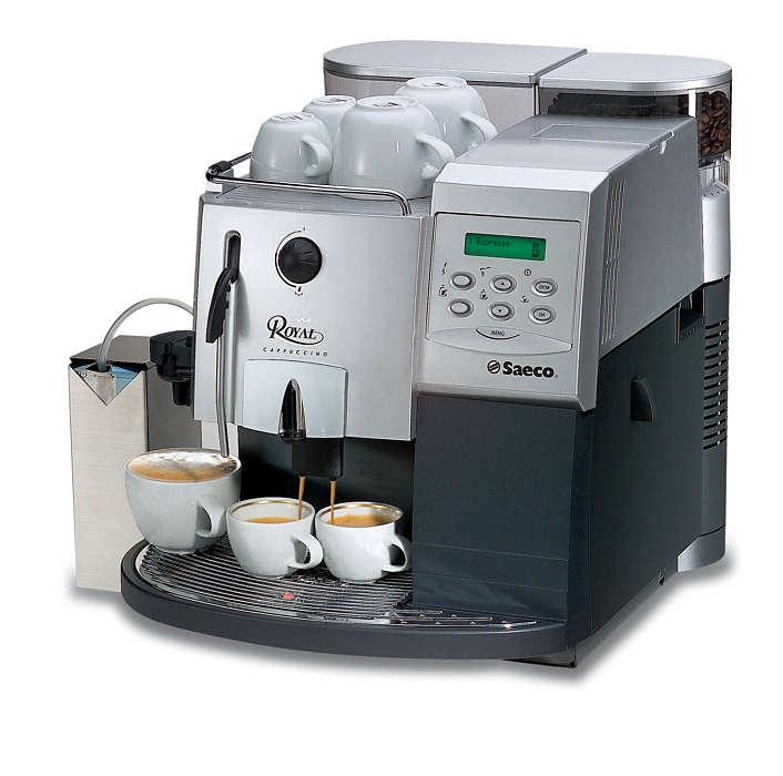 Royal: grenzeloos espressogenot