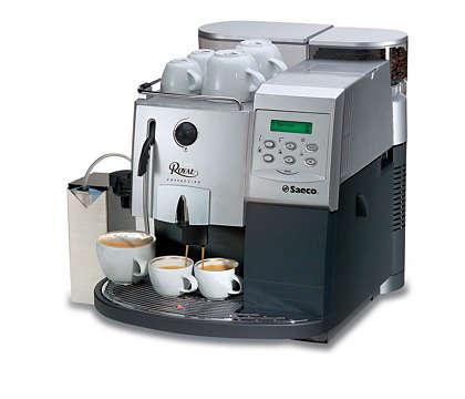 Royal: grenseløs nytelse av espresso
