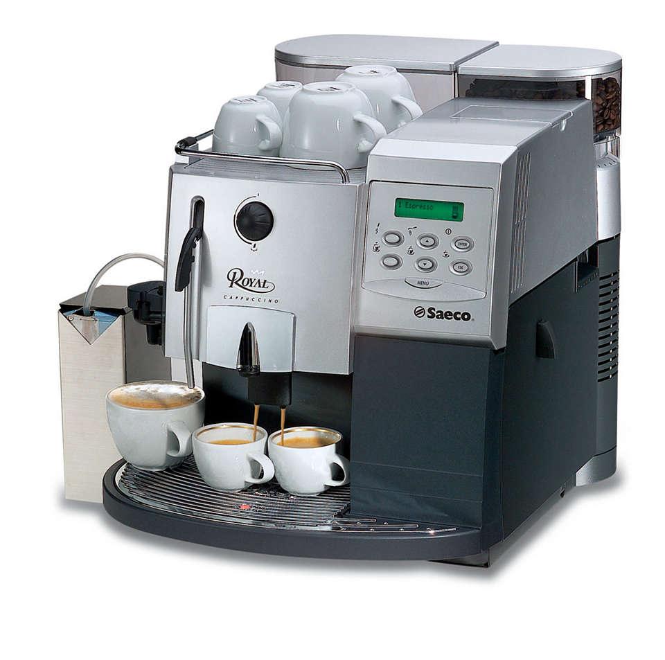 Royal: Ciesz się smakiem espresso bez ograniczeń