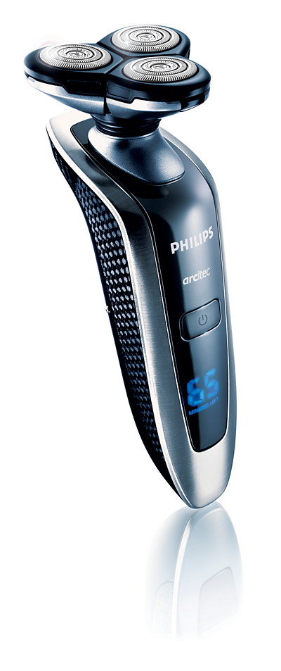 Philips electric shaver/ razor manual in the english language.