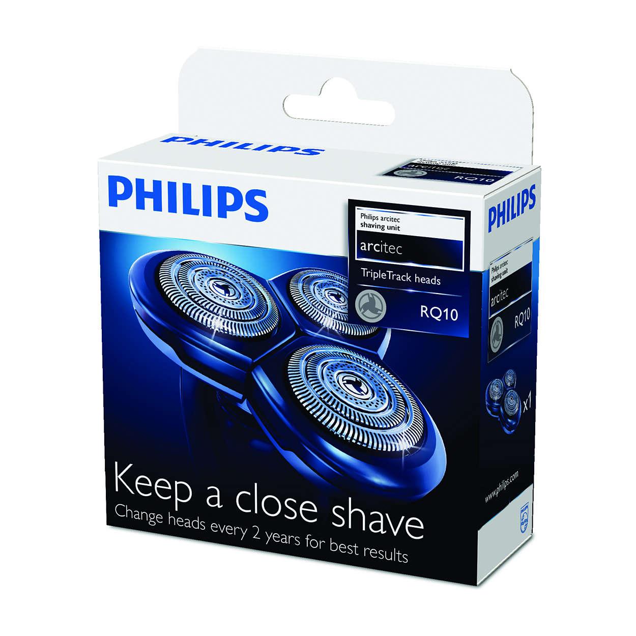 Para un afeitado al ras