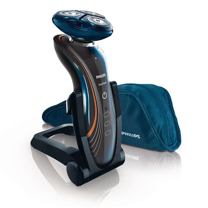 Philips SensoTouch – mjuk beröring, slät rakning