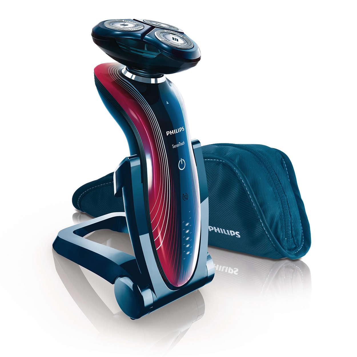 sensotouch rasoir lectrique peau s che et humide rq1180. Black Bedroom Furniture Sets. Home Design Ideas
